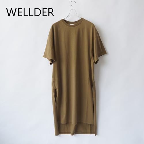 WELLDER/ウェルダー・Crew Neck Onepeiece
