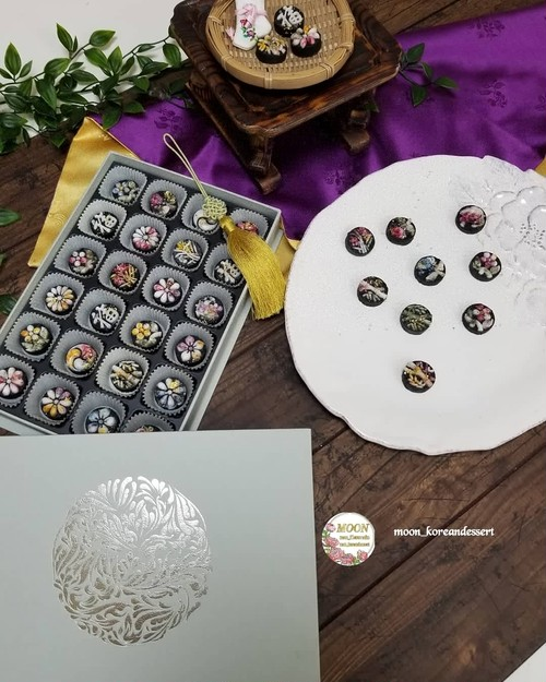 韓国伝統菓子 茶食 ダシク
