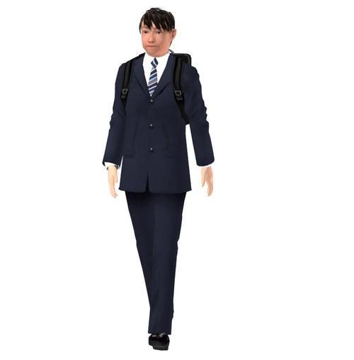 会社員-02-01(男性-歩行)