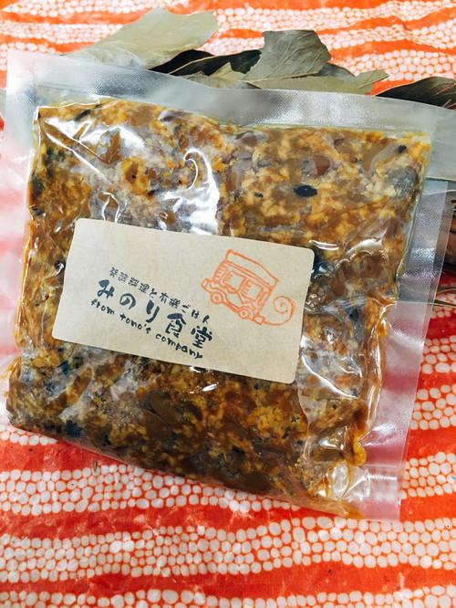 青大豆と黒丹波の自家製味噌