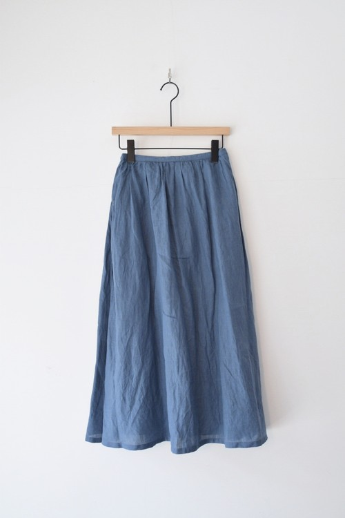 【ORDINARY FITS】 TRAVEL SKIRT linen/OF-K007