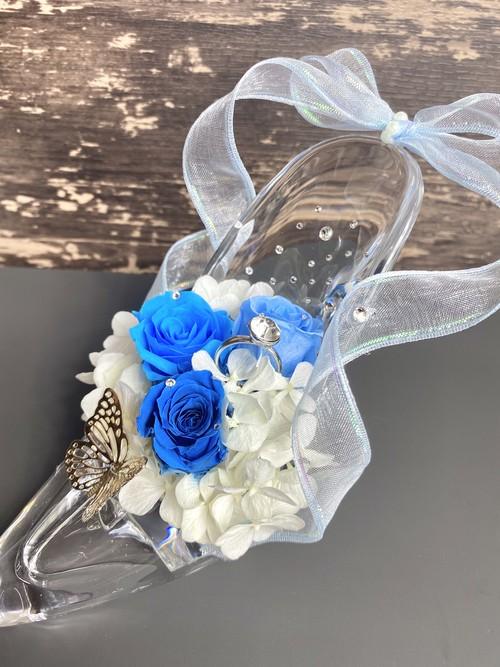 輝くフラワーシンデレラ靴【プレゼント】