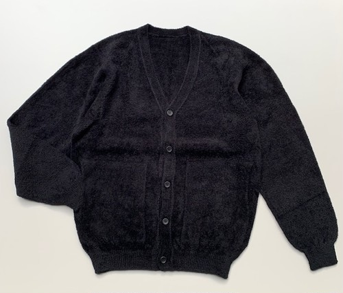 creouscule cotton mole cardigan black