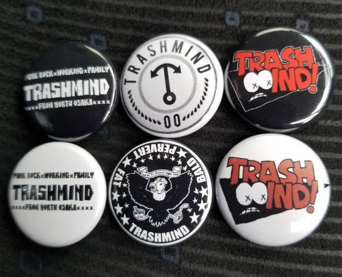 Button Badges (incl 6 pieces)
