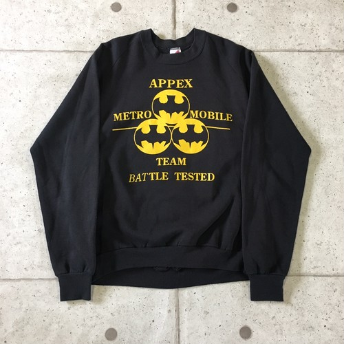80s BATTLE TESTED USA製 スウェット size:XL