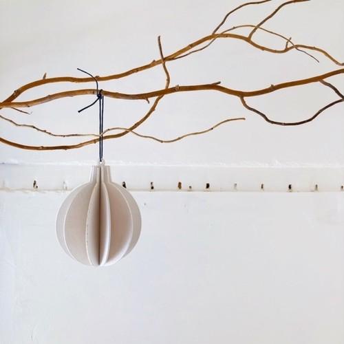 Christmas ornament -wooden ジョイントオーナメント・ボール-