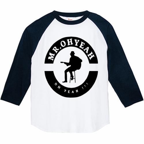 Mr.OH YEAHロング(長袖)ツートーンTシャツ