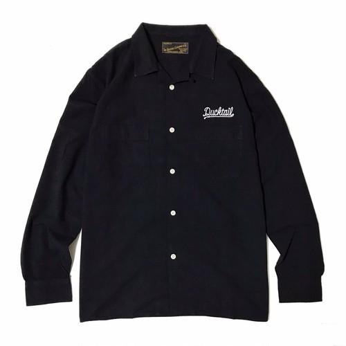 "DUCKTAIL CLOTHING LONG SLEEVE SHIRTS ""JEANNIE,JEANNIE,JEANNIE"" BLACK"