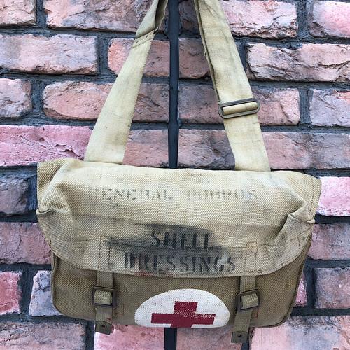 WW2 British Army Medical Crops Dressing Bag 1942