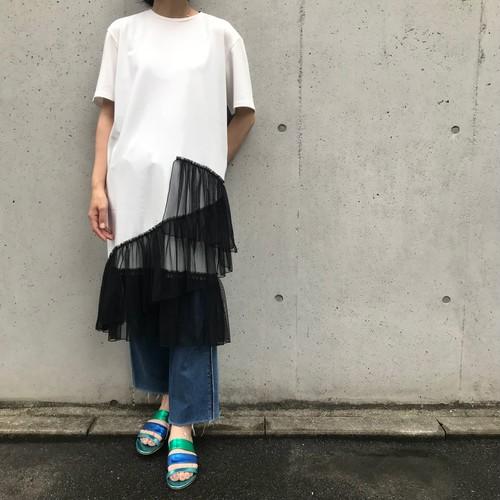GALENA/レースロングTシャツ