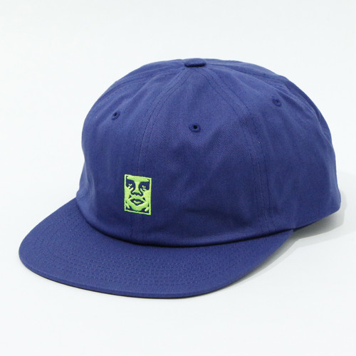 ICON 6 PANEL STRAPBACK (NAVY)