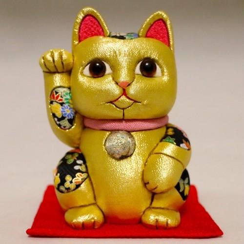 まねき猫(大) 風水シリーズ(金)