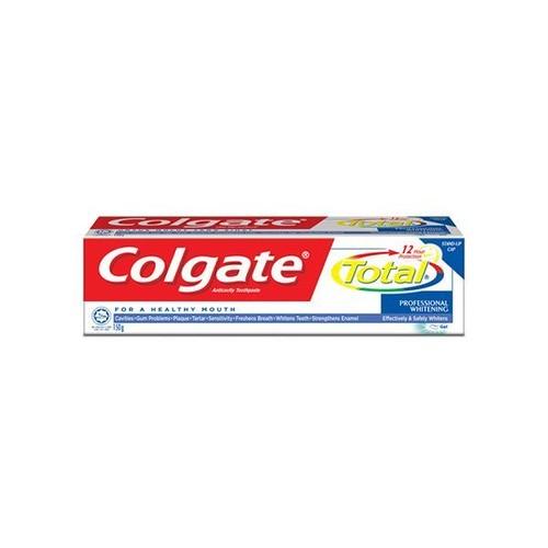 コルゲート トータル 歯磨き粉 プロフェッショナル ホワイトニング / COLGATE TOOTHPASTE TOTAL PROFESSIONAL WHITENING 150g