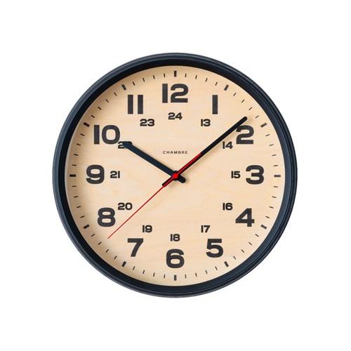 CHAMBRE BRAM CLOCK 【BLACK】【電波時計】