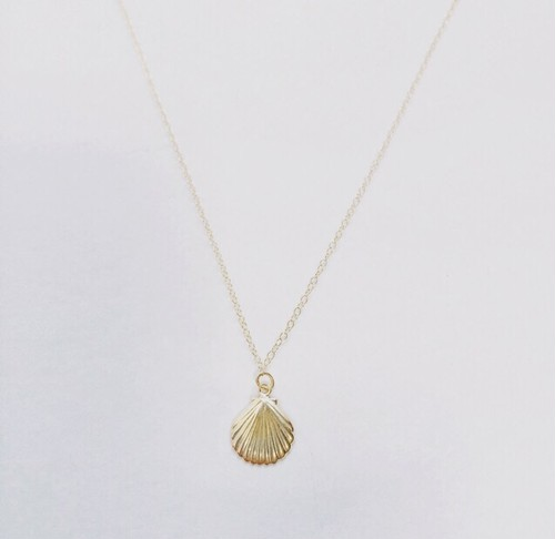 14kgf shell necklace
