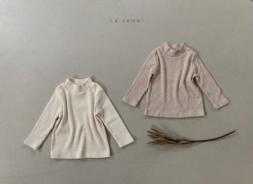 =sold out=chou-cream T-shirt〈la camel〉