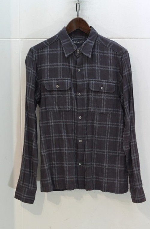 LOUNGE LIZARD チェックシャツ