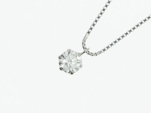 【IF Fカラー 3EX】0.30ct UP ダイヤモンドネックレス