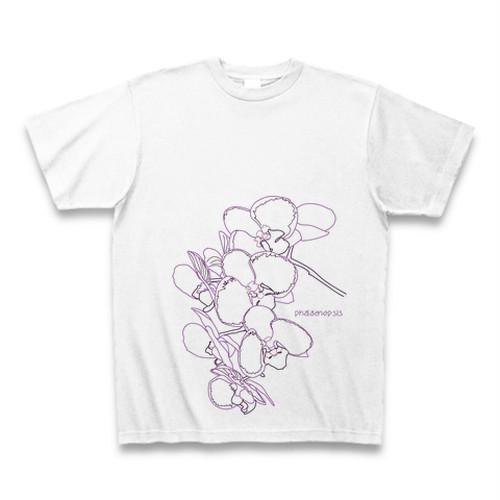 コチョウラン フラワーイラストTシャツ