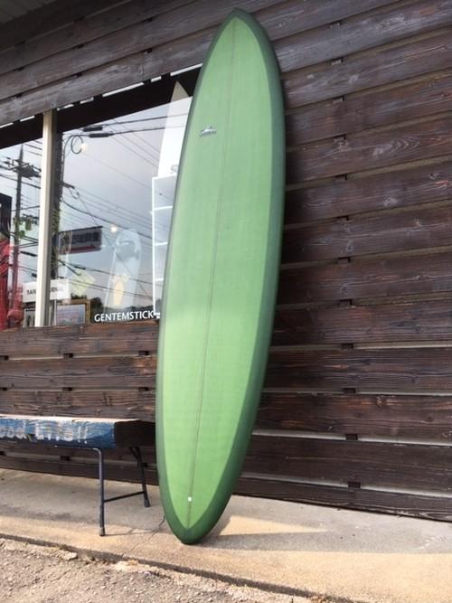"Thomas Surfboards  Utility Mid 7'11"" Japan Shaping(カラー、フィン代込み)"