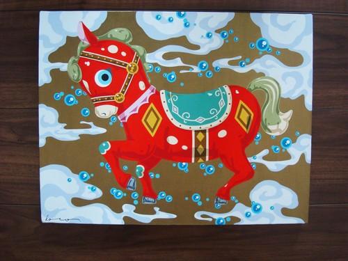 【25-3】 今野剛秀 「Prosper Toys : 馬」
