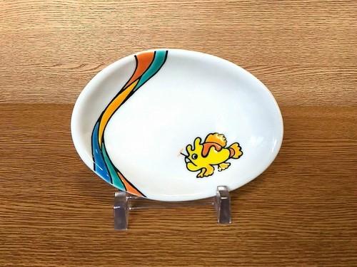 楕円小皿 カエルアンコウ