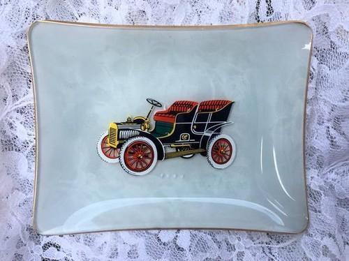イギリス ヴィンテージ ガラス食器 クラシックカー