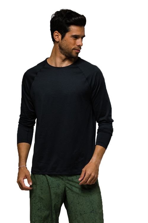 Raglan Long Sleeve Black