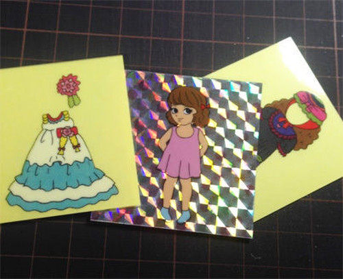 """Part 1: """"Fashion Up and Down"""" - 32 sheets (changeable stickers)"""
