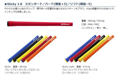 イオミック Sticky 1.8 スタンダードグリップ