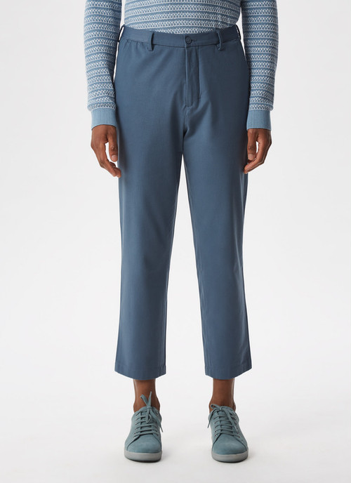 COTTON TROUSERS WITH ELASTIC WAISTLINE