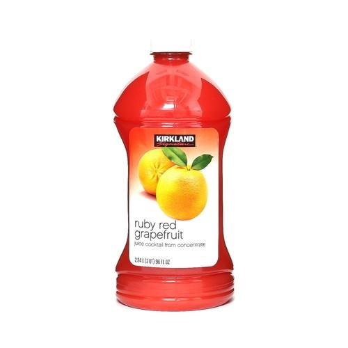 コストコ カークランドシグネチャー ルビーレッドグレープフルーツ ジュース 2.8L | Costco Kirkland Signature Rubyred Grapefruit 96z  1item