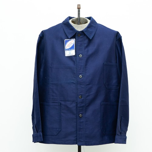 LE LABOUREUR BLUE MOLESKIN JACKET