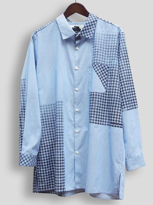 Stripe-HoundstoothShirt