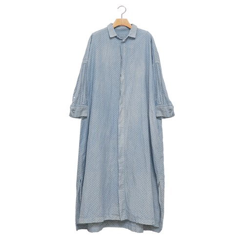 TOUJOURS /トゥジューDouble Cuffs Wide Shirtダブルカフスワイドシャツ【KM30SD08】