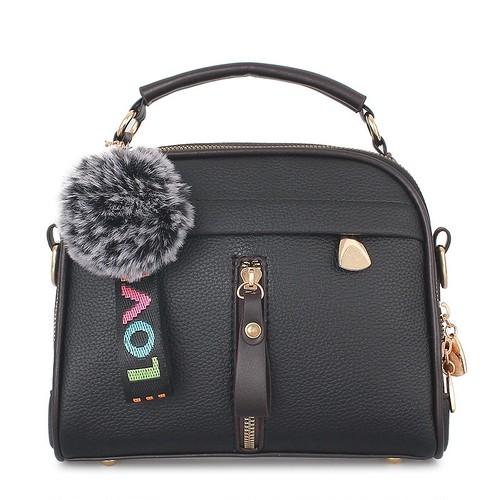 Crossbody Bag PU Leather Bag Sac Shoulder Messenger Bag Small レザー クロスボディ フェミニン メッセンジャーバッグ (ZM99-5097501)