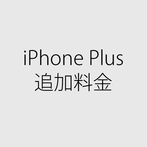 iPhone Plus 追加料金