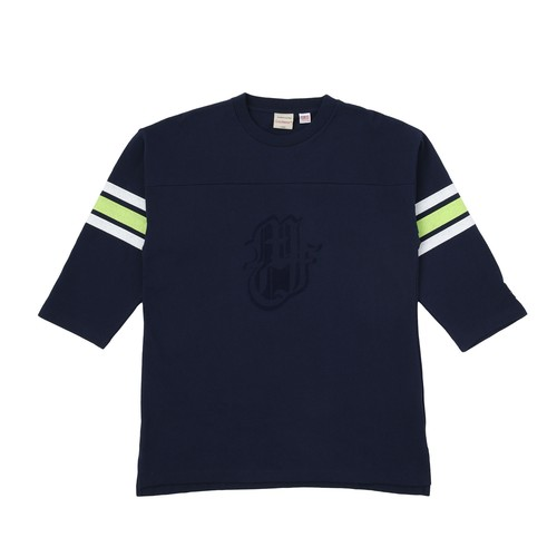 MFC STORE x Goodwear 7L FOOTBALL TEE / NAVY
