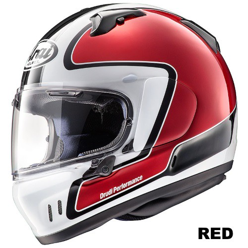ARAI XD OUTLINE RED