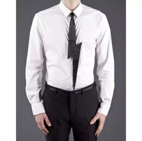 "★50%OFF★ MUFFINHEAD ""LIGHTNING TIE"" BLACK"