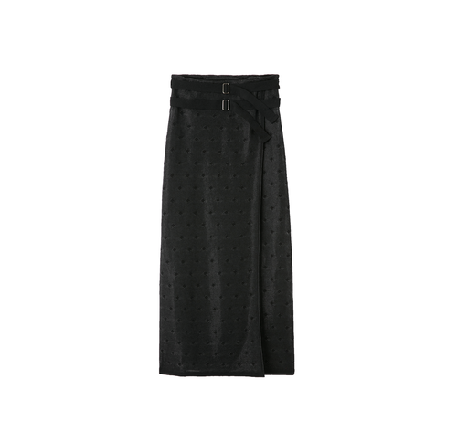 DOTS TULLE SKIRT BLACK [TN18SS0010]