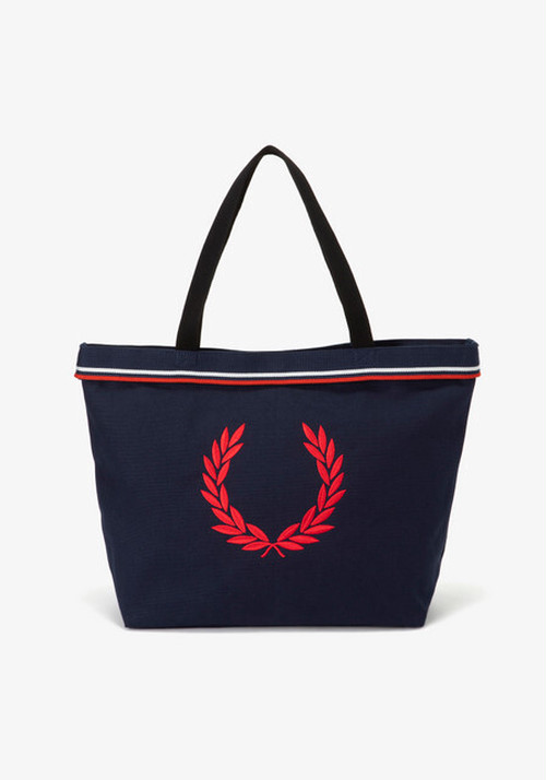 TWIN TIPPED TOTE BAG NAVY