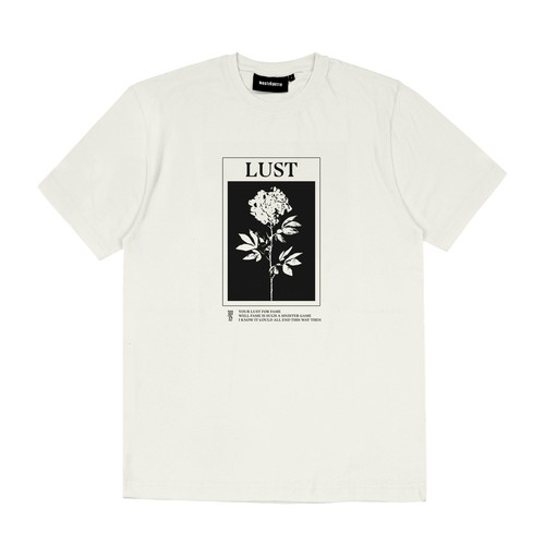 WASTED PARIS Lust T-Shirts WHITE