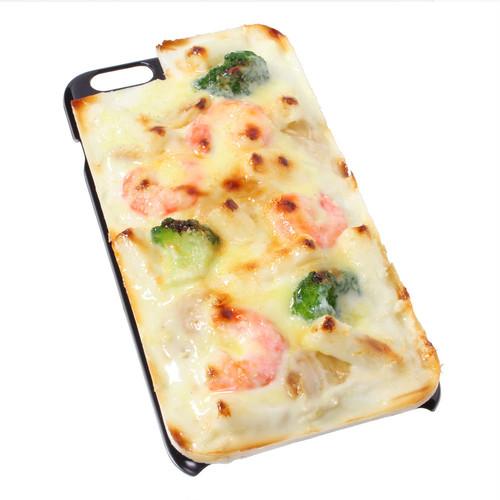 [8014]食品サンプル屋さんのスマホケース(iPhone6 Plus/6s Plus:グラタン)【メール便不可】