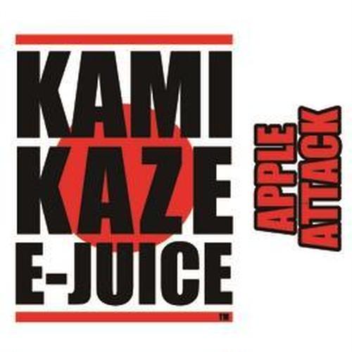 KAMIKAZE E-JUICE APPLE ATTACK 15ml (カミカゼ イージュース アップルアタック)