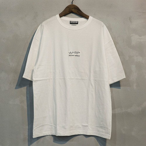 "Warp Design  Works Logo T-shirt ""Manu"""
