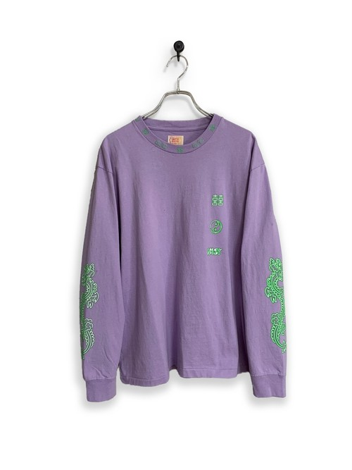 Original Long Sleeve-T / noodle/purple