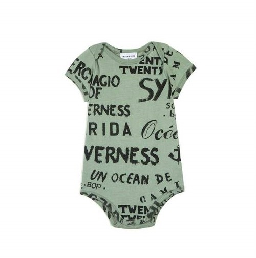 WOLF & RITA ウルフ&リタ DIOGO SYNERGIE GREEN size:6-12m(70-80)・12-18m(80-90)