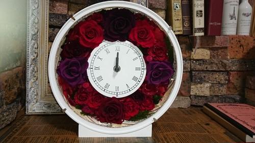 ●花時計●丸型★送料無料★