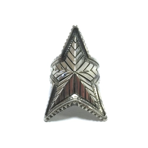 Navajo Depp Star Ring by Cody Sanderson